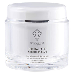 Crystal Clear Crystal Face and Body Polish 150ml - Grace Beauty