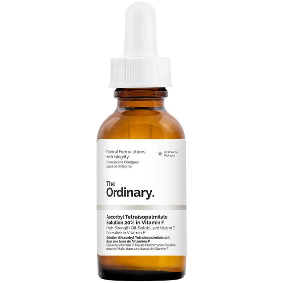 The Ordinary Ascorbyl Tetraisopalmitate Solution 20% in Vitamin F 30ml - Grace Beauty