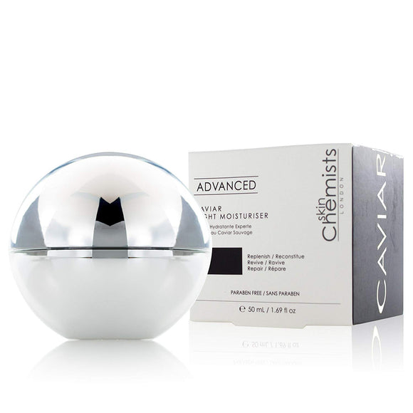 skinChemists London Advanced Caviar Night Moisturizer 50g - Grace Beauty
