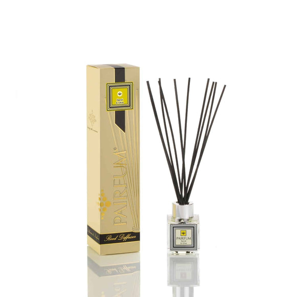 Pairfum London Luxury Reed Diffuser 'eau de parfum' 50 ml - Neroli & Olive- 10 Black Reeds - Grace Beauty
