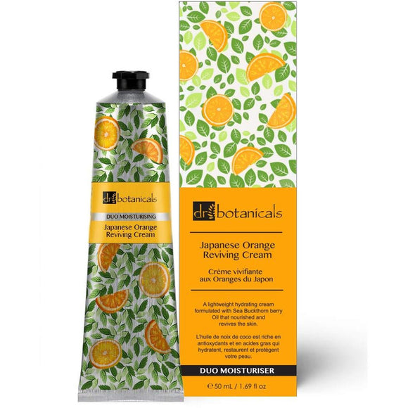 Dr Botanicals Japanese Orange Reviving Cream 50ml Vegan - Grace Beauty