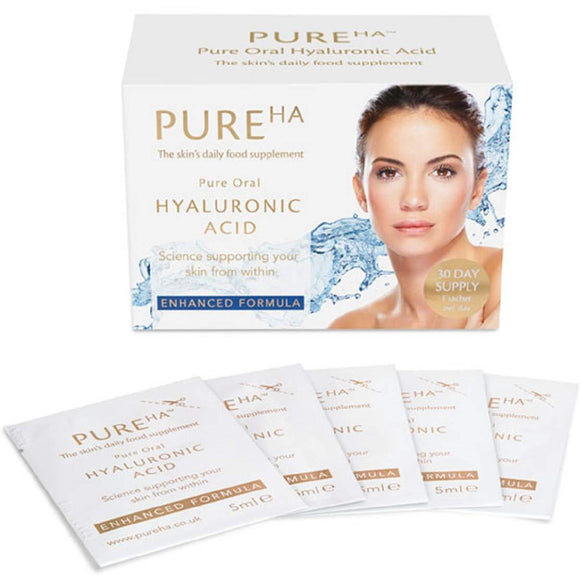 PureHA Pure Oral Hyaluronic Acid 30 Days supply - Grace Beauty
