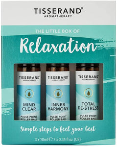 Tisserand Little Box Of Relaxation Rollerball Kit 3x10ml