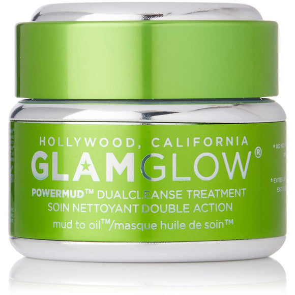 GLAMGLOW POWERMUD Dual Cleanse Mask Treatment 50g - Grace Beauty