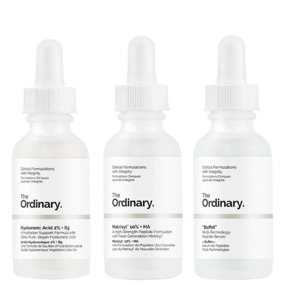 The Ordinary Anti-Ageing Set 3 Pieces - Grace Beauty