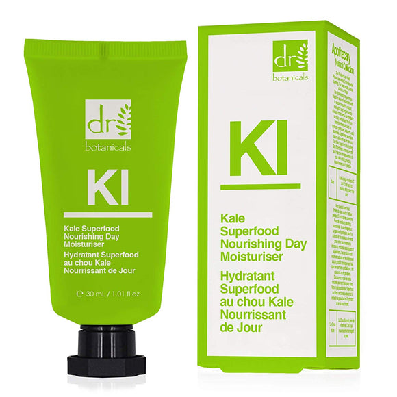 Dr Botanicals Apothecary Kale Superfood Nourishing Day Moisturiser 30ml Vegan - Grace Beauty