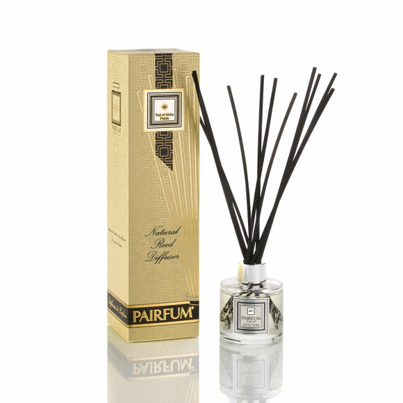 Pairfum London Luxury Reed Diffuser Classic Trail of White Petals 100ml +10 Reeds - Grace Beauty