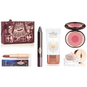 Charlotte Tilbury SPRING Mystery Gift Box 2018 Worth £160, Include 5 pieces Full Size Must Have Make up - Grace Beauty