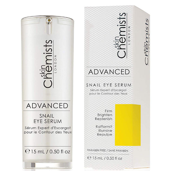 skinChemists London Advanced Snail Eye Serum 15ml - Grace Beauty