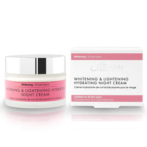 SkinChemists London Whitening and Lightening Hydrating Night Cream 50ml - Grace Beauty