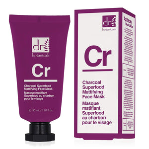 Dr Botanicals Charcoal Superfood Mattifying Face Mask 30ml - Grace Beauty