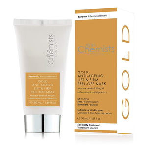SkinChemists London Gold Supreme Anti-Ageing Peel-Off Face Mask 50ml - Grace Beauty