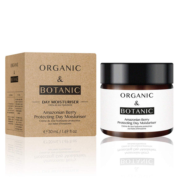 Organic & Botanic Vegan Amazonian Berry Protecting Day Moisturiser 76 g - Grace Beauty