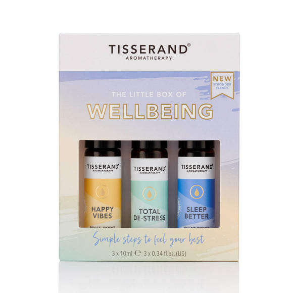 Tisserand Aromatherapy Little Box of Wellbeing 3x10ml