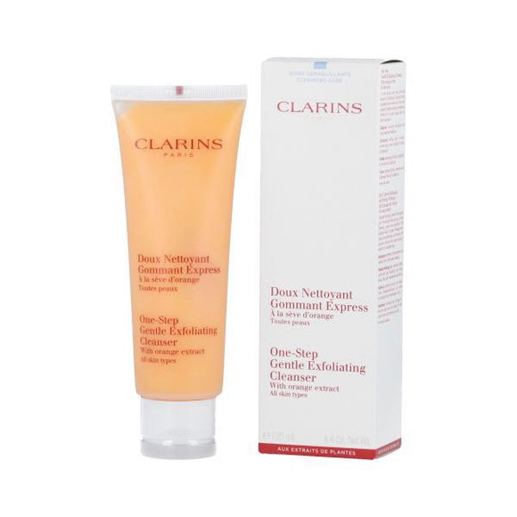 Clarins One Step Gentle Exfoliating Cleanser with Orange Extract 125ml (All Skin Types) - Grace Beauty