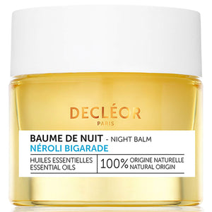 DECLÉOR Neroli Bigarade Night Balm (Dehydrated Skin) 15ml - Grace Beauty