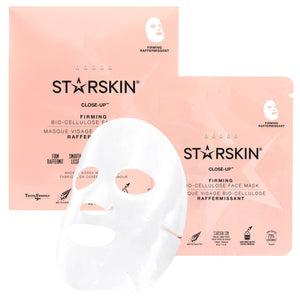 STARSKIN Close-Up™ Coconut Bio-Cellulose Second Skin Firming Face Mask - Grace Beauty