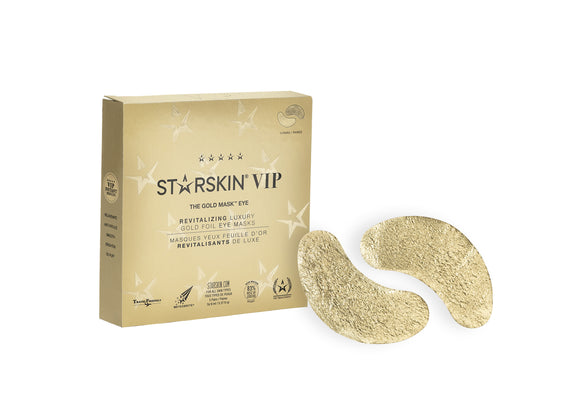 STARSKIN VIP THE GOLD MASK™ Eye Mask (5 PAIR)Revitalizing Luxury Gold Foil Eye Mask - Grace Beauty