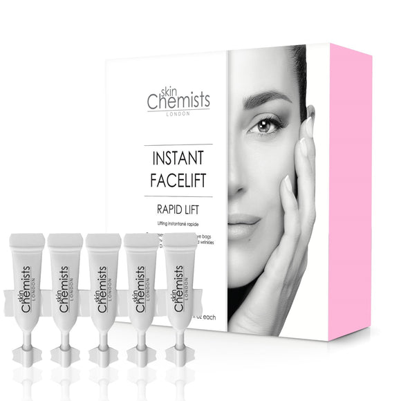 skinChemists London Advanced Instant Facelift 5 x 2ml - Grace Beauty