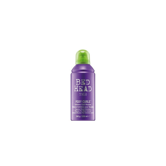 TIGI BED HEAD Foxy Curls Extreme Curl Mousse 250ml - Grace Beauty