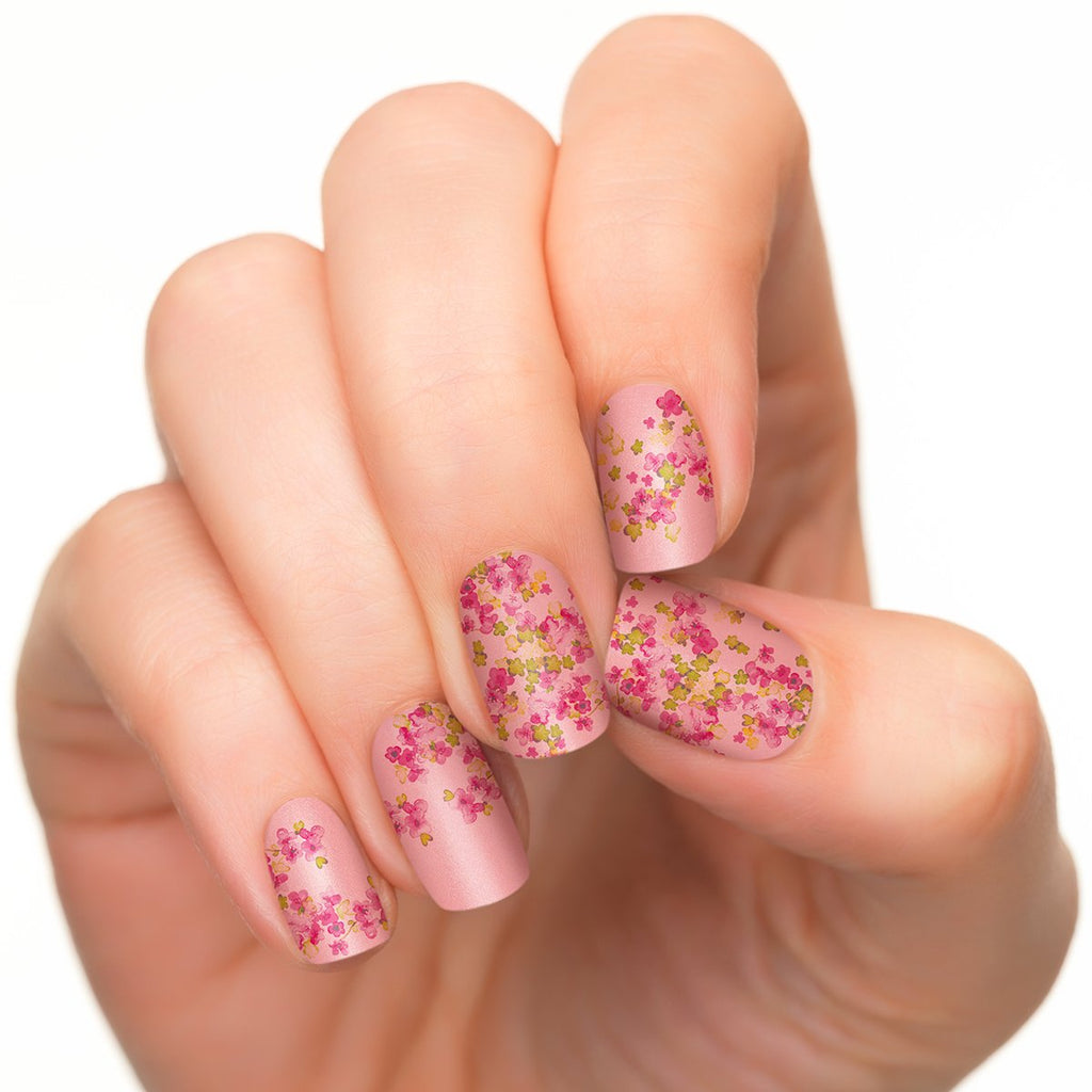 Appliqué de vernis Cherry Blossoms