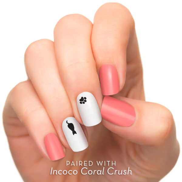 Applique De Vernis Accent Purrfect Pair