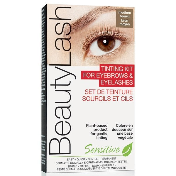 Teinture brun medium sourcils et cils