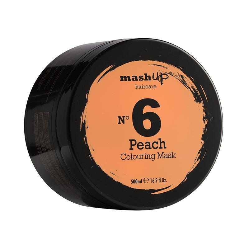 Masque colorant pêche N. 6