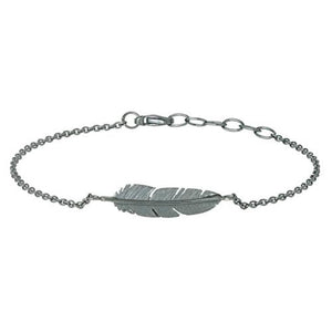 Feather anklet
