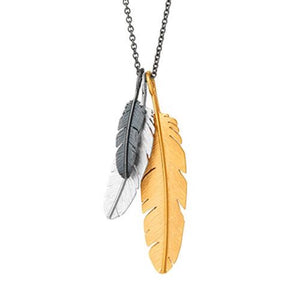 Campaign Feather pendant