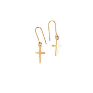 Cross earhook