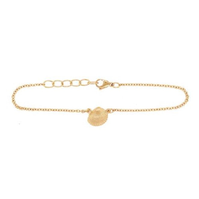 Shell mini anklet
