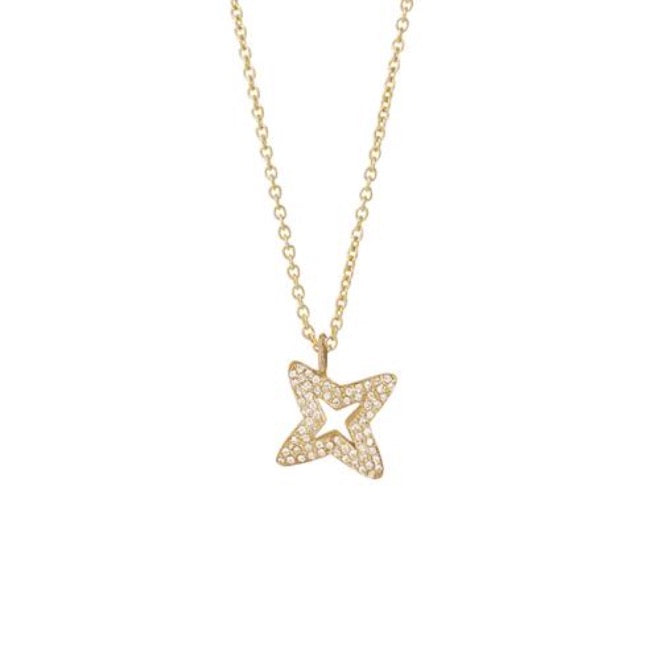 Brilliant pave Star pendant