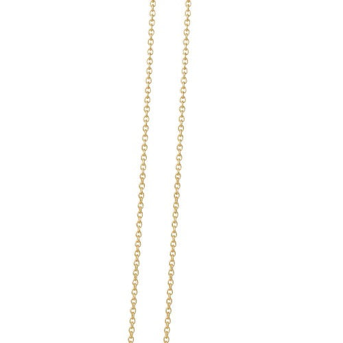 14K Gold anchor chain 45cm