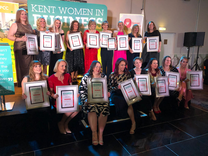 Fond Company's Hannah Catchlove wins at the Kent Women in Business Award 2020