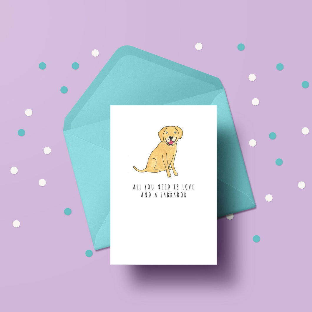 All you need is love and a Labrador card