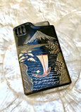 Vintage Oriental Japanese Lighter With Wind-Up Music Box Collectible