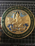 National Park, Wildlife And Plant Conservation Department Car Badge