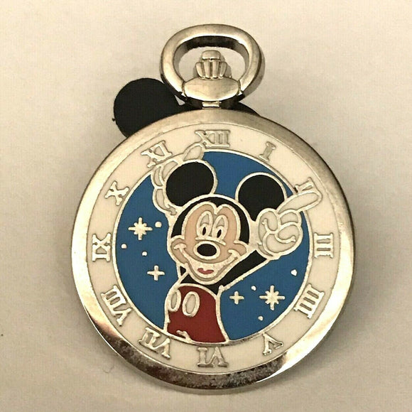 PWP Pocket Watch Pocketwatch Mickey Mouse Disney Pin 112972