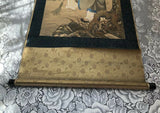 Antique Signed Chinese Original Scroll Painting on Silk