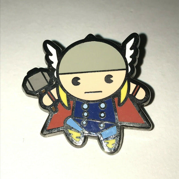 2015 Disney Marvel Kawaii Art Collection Mystery Pouch Thor Pin Rare