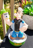 Popeye The Sailorman Spinach Can Bobber Vandor Collectible 2002
