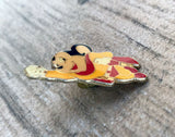 Vintage Mighty Mouse Pin Rare Collectible Pinback