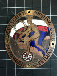 Deutscher Touring Club Automobil Arteilung Car Badge