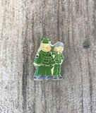 Vintage Beetle Bailey + The Sarge Collectible Pin
