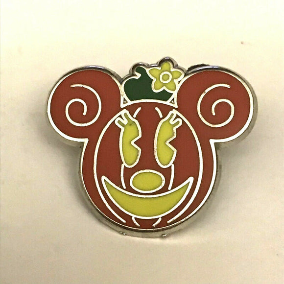 Walt Disney Minnie Mouse As a Halloween Jack O Lantern Pumpkin Collectible Pin