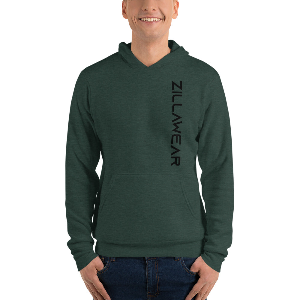 The ZillaWear Vertical hoodie - HotGymapparel