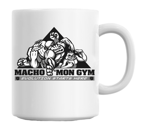 Macho'mon Gym Mug - HotGymapparel