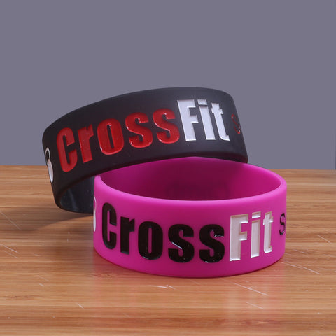 CrossFit Silicone Wristband - HotGymapparel