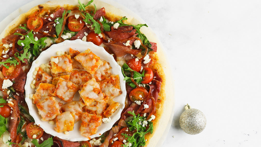 Il Uno Artisan Pizza | A Holey Wreath Pizza